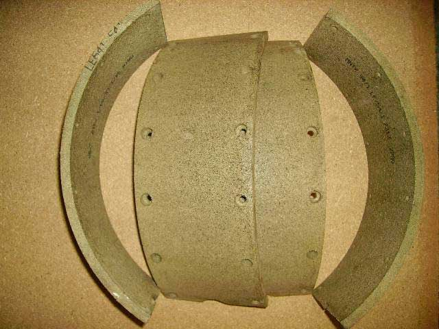There are many types of Brake Linings. The one for your vehicle may not look exactly the same as the part in the picture. Classic Spares has in stock 327 different types.