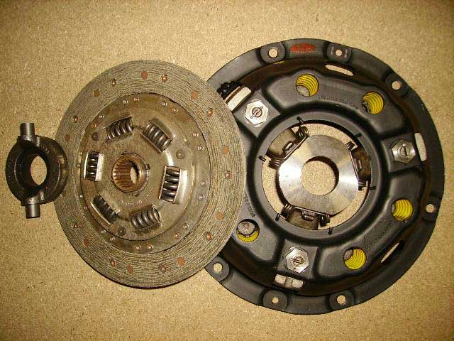 There are many types of Clutches. The one for your vehicle may not look exactly the same as the part in the picture. Classic Spares has in stock 147 different types.