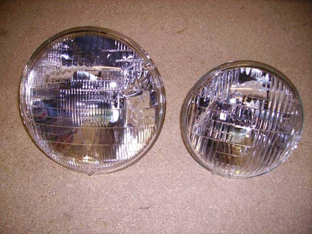 There are many types of Headlamps. The one for your vehicle may not look exactly the same as the part in the picture. Classic Spares has in stock 26 different types.