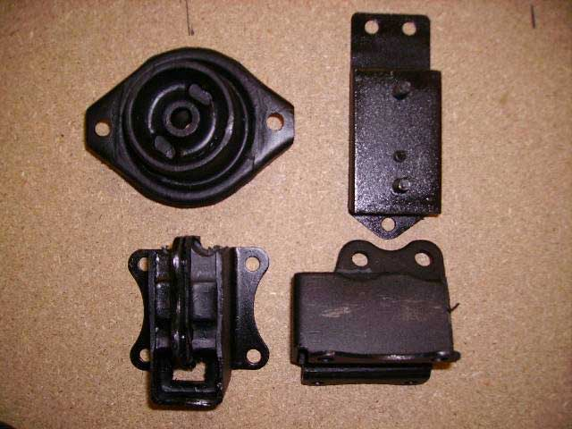 There are many types of Mountings. The one for your vehicle may not look exactly the same as the part in the picture. Classic Spares has in stock 370 different types.