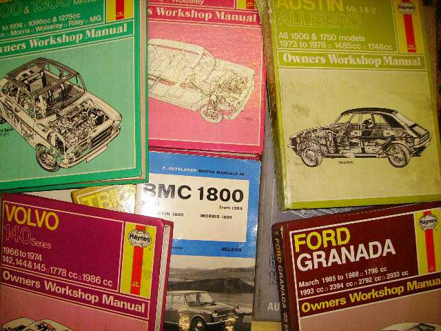 There are many types of Workshop Manuals. The one for your vehicle may not look exactly the same as the part in the picture. Classic Spares has in stock 234 different types.